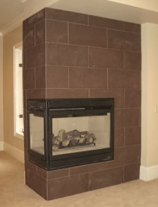 Corner fireplaces prefab corner gas fireplace Prefab outdoor wood burning fireplace