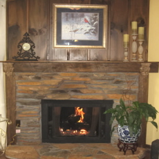Collection of fireplace pictures Prefab outdoor wood burning fireplace