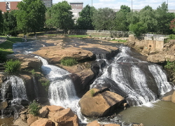Greenville Reedy Falls