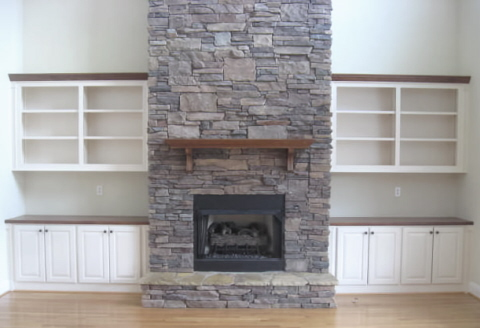 Collection of fireplace pictures & designs.