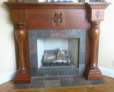 725 - Vent-free gas fireplaces are attractive, efficient, easy to