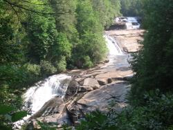 Dupont Triple Falls Waterfall