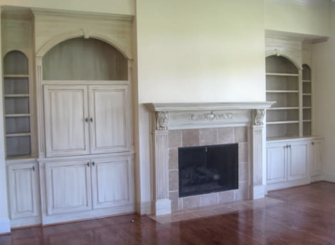 Collection of fireplace photos for Prefabricated wood burning fireplaces