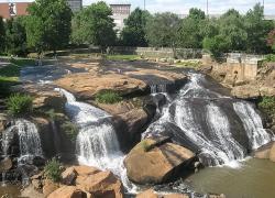 Greenville Reedy Falls